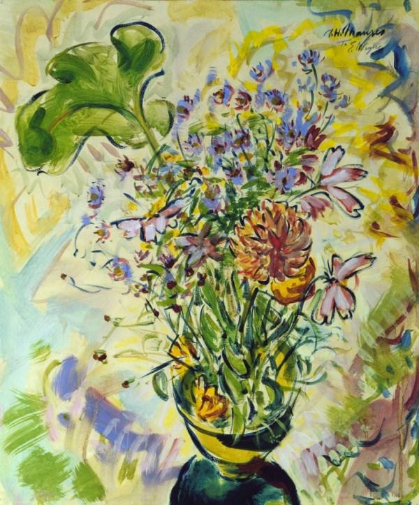 Alfred . Maurer Floral Life Ca. 1926