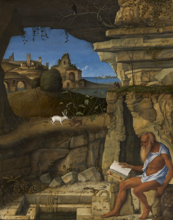 By Giovanni Bellini Saint Jerome Reading