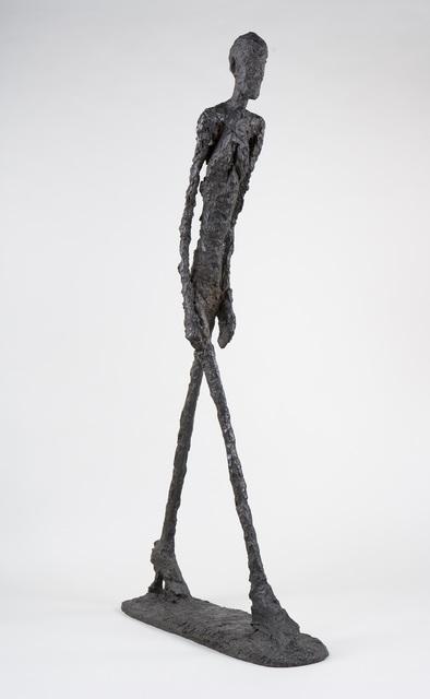 L'homme Qui Marche De Giacometti : l'homme, marche, giacometti, Alberto, Giacometti, Walking, (Homme, Marche, (1960), Artsy
