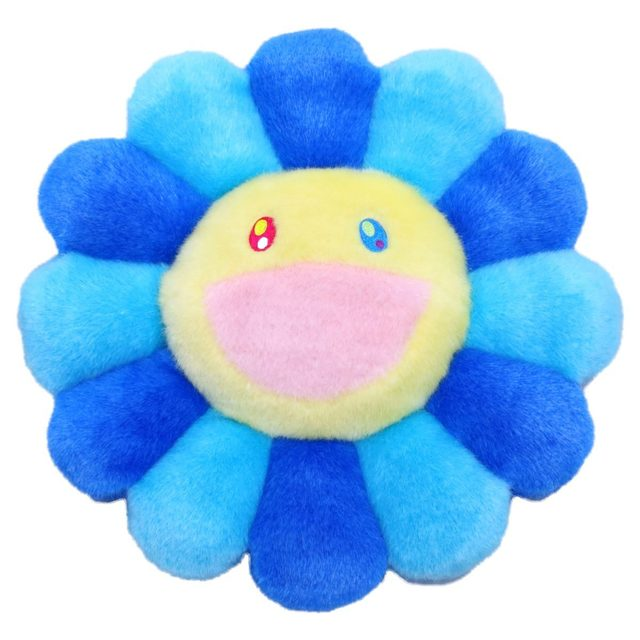 takashi murakami flower cushion 60 cm light blue 2020 2020 available for sale artsy
