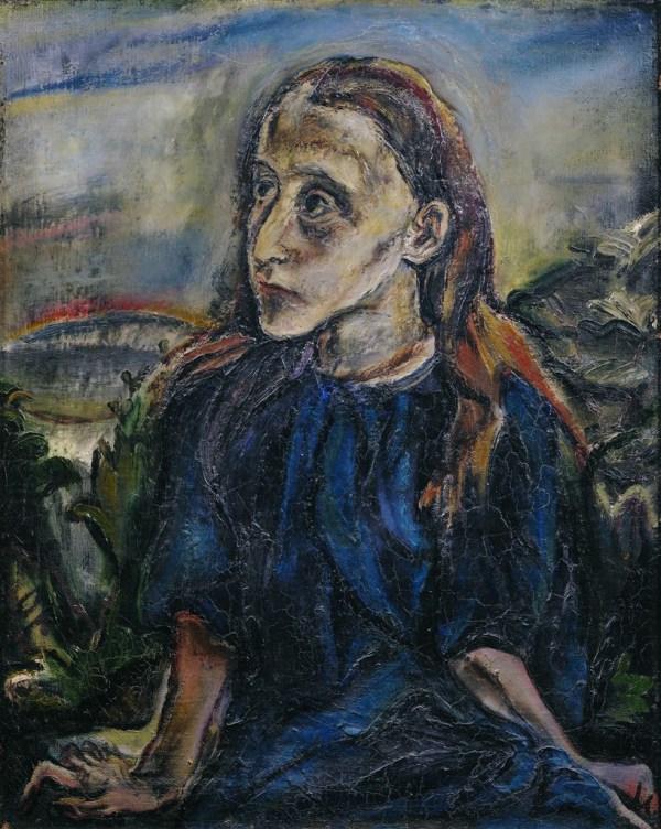 Oskar Kokoschka Portrait of a Girl