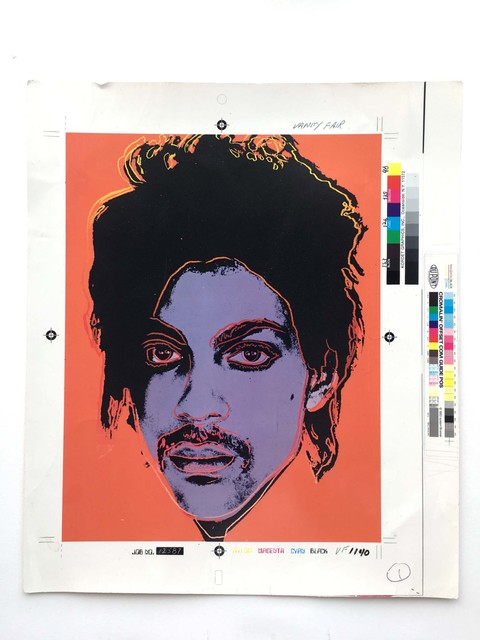 Andy Warhol Portrait Of Prince 1984 Artsy