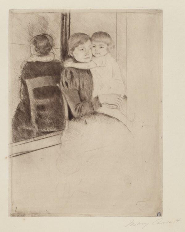 Mary Cassatt Mirror Ca. 1891 Artsy