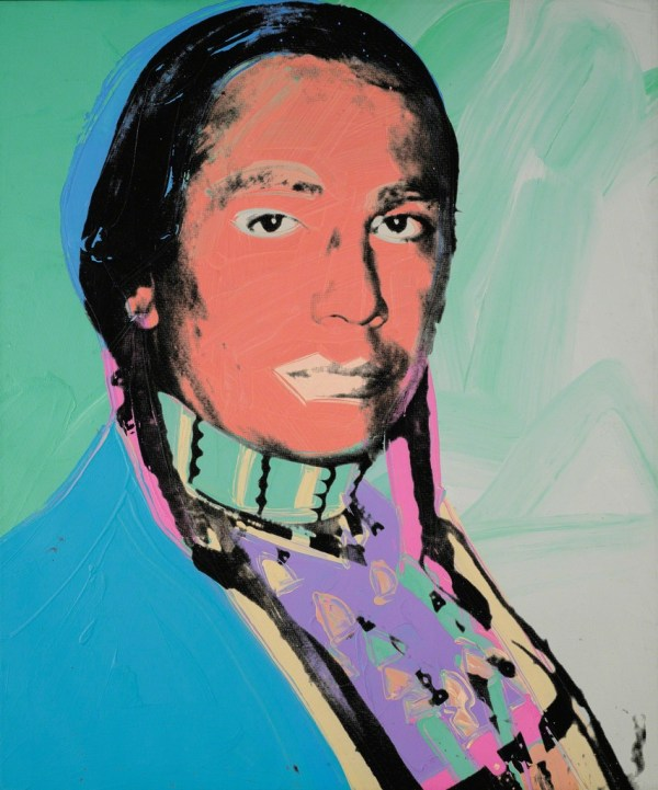 Andy Warhol American Indian Russell Means 1976