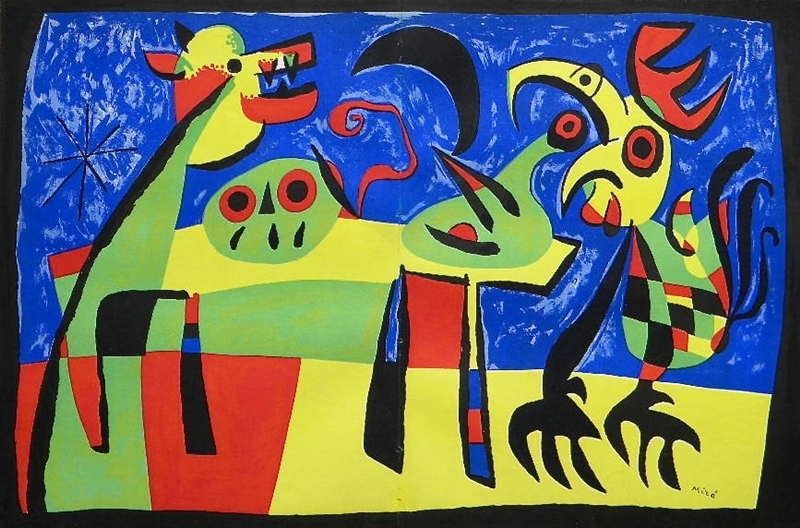 Joan Miró, 'Dog Barking at the Moon', 1952, Galerie d'Orsay