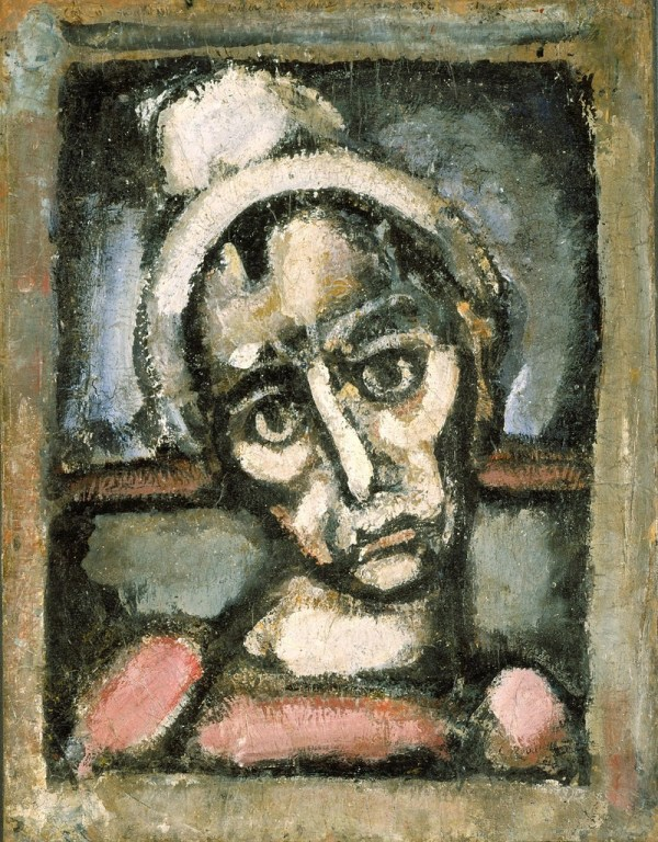 Georges Rouault Head of a Clown