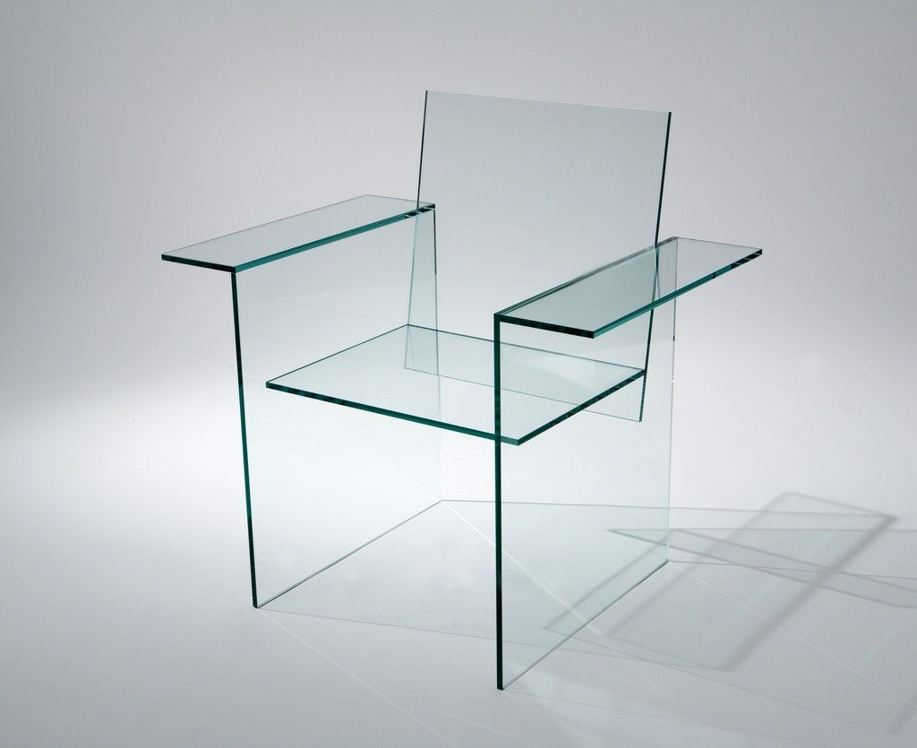 Glass Chair Shiro Kuramata Glass Chair 1976 Available For Sale