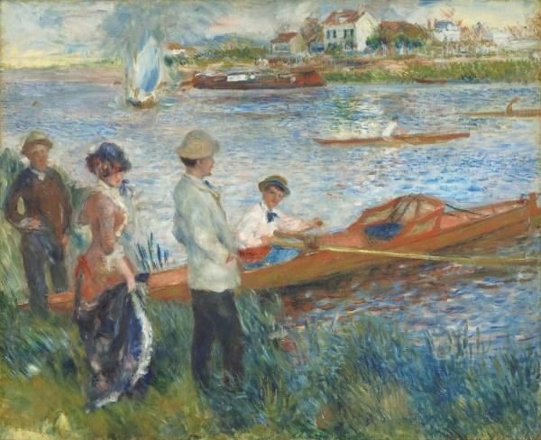 Renoir Oarsmen at Chatou