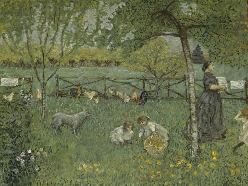 Pierre Bonnard  Le grand jardin The Large Garden 1895  Artsy