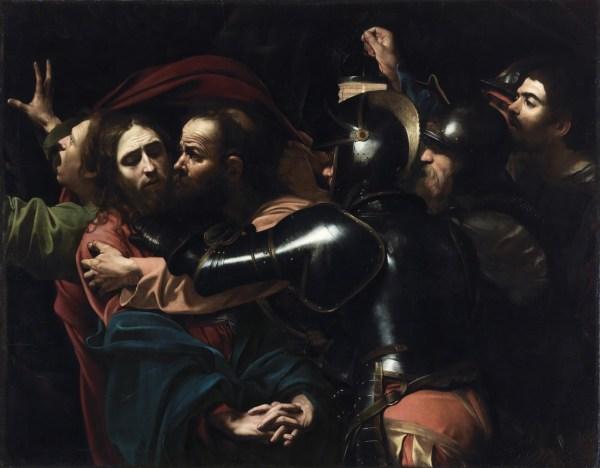 Caravaggio Betrayal of Christ