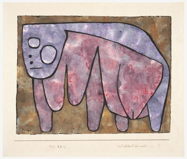 Paul Klee Und Schmt Sich Nicht And Ashamed 1939