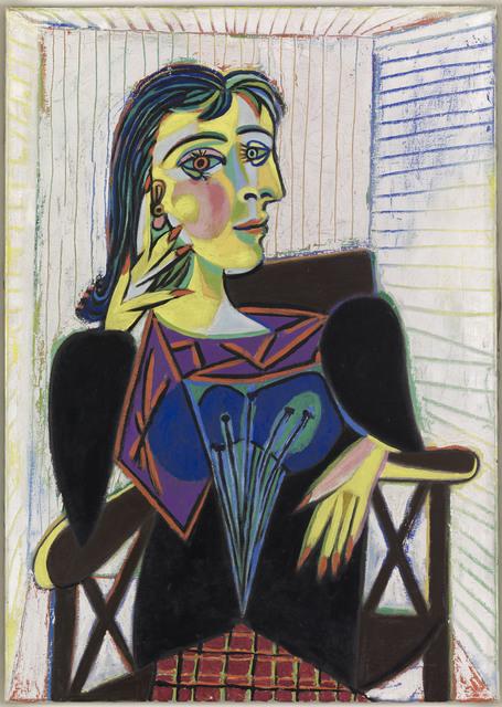Portrait De Dora Maar : portrait, Pablo, Picasso, Portrait, (Portrait, Maar), (1937), Artsy