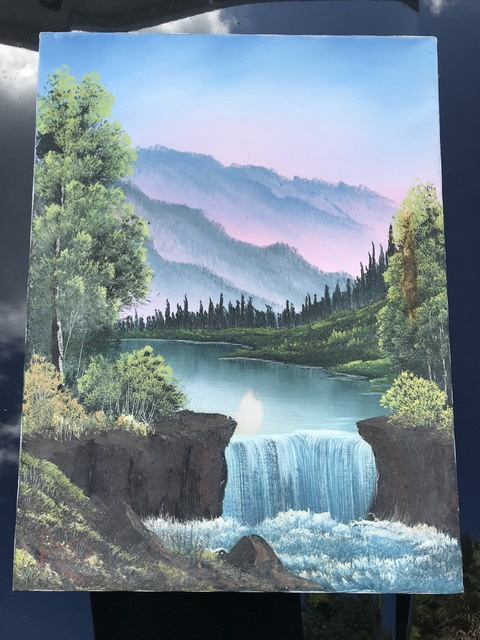 Bob Ross - Landscape Brush Set, Oil Based Painting Tools