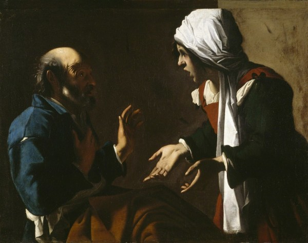 Pensionante Del Saraceni Denial Of Saint Peter 1615