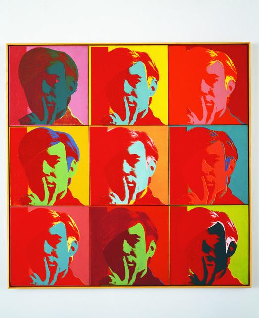 Andy Warhol Self Portrait 1966 Artsy