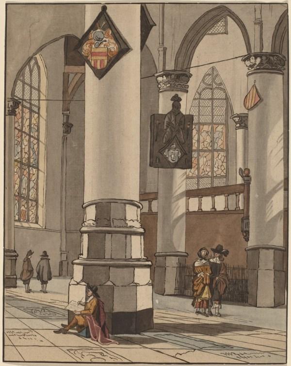 Painting Churches Van Amstel