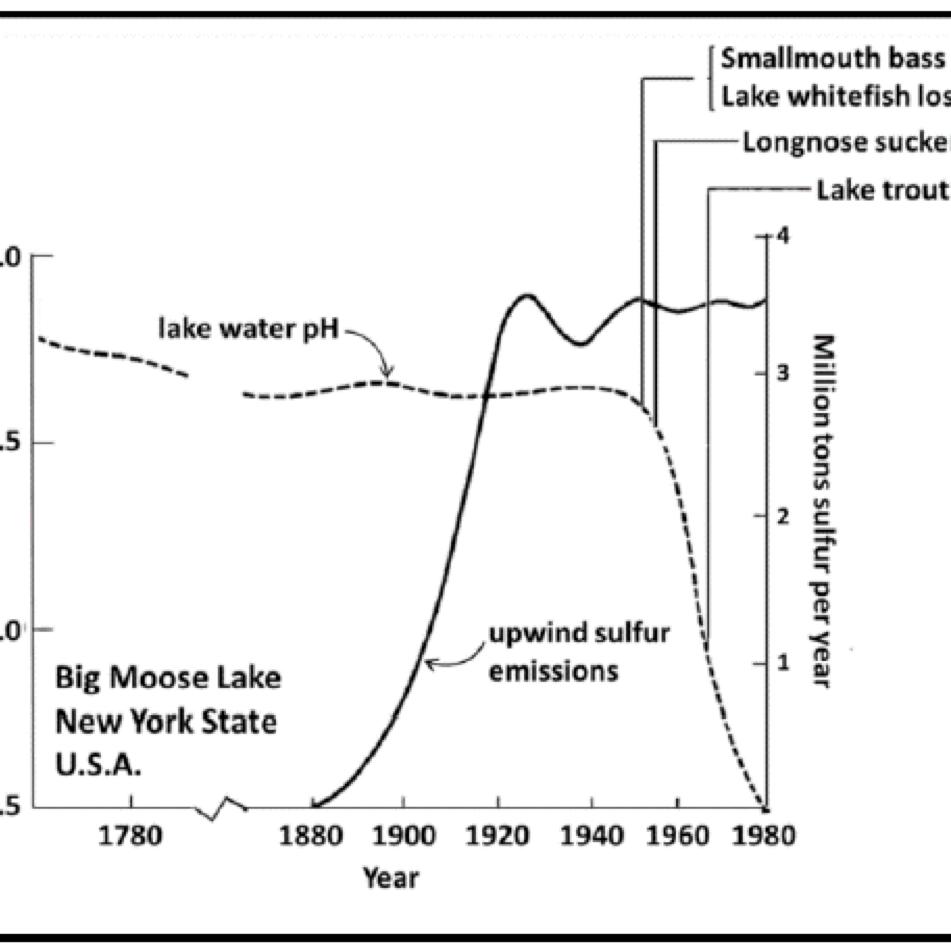 hight resolution of acid rain diagram pathway