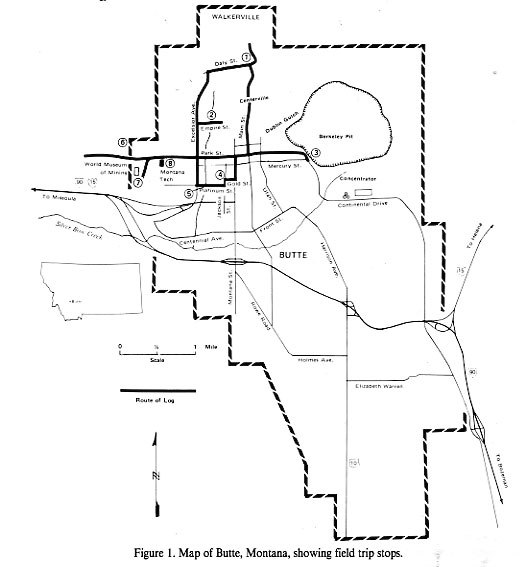 Geology of the Butte Mining District, Montana