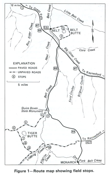 Field Guide; Belt Butte and Tiger Butte