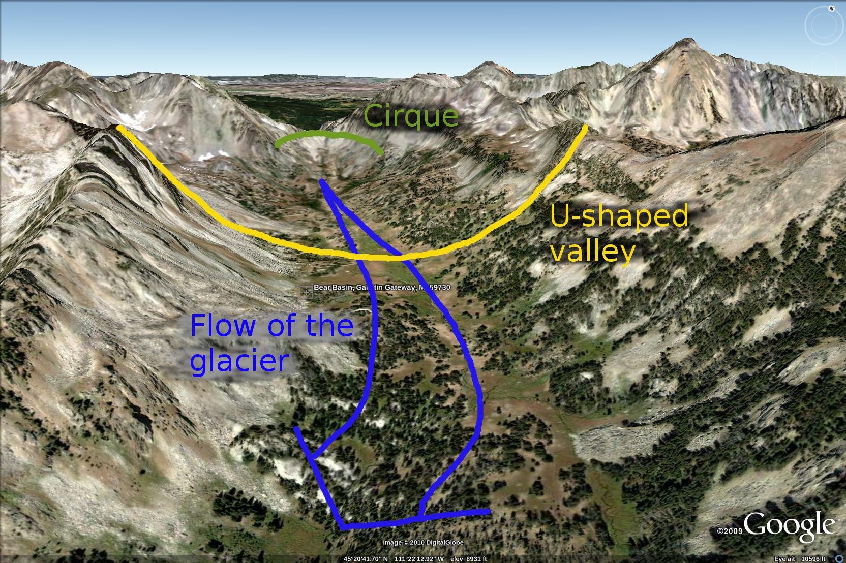 cirque glacier diagram nissan pulsar n15 radio wiring bear basin