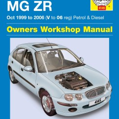 Mg Zr Wiring Diagram 2005 Suzuki Eiger For Rover 25 Library Petrol Diesel Oct 99 06 Haynes Repair Manual