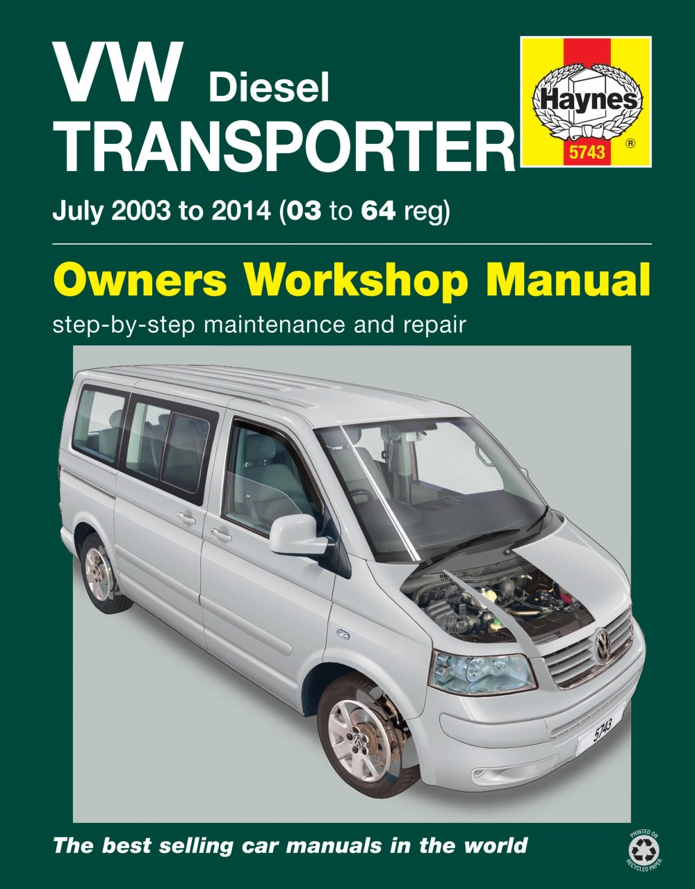 medium resolution of enlarge vw t5 transporter july 03 14 haynes repair manual