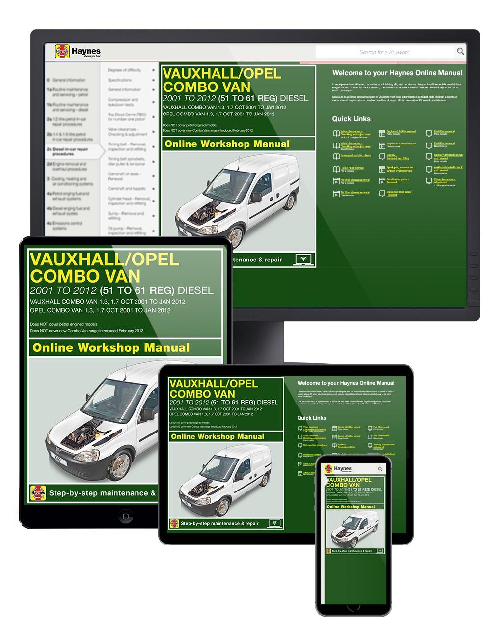 hight resolution of enlarge vauxhall opel combo diesel van