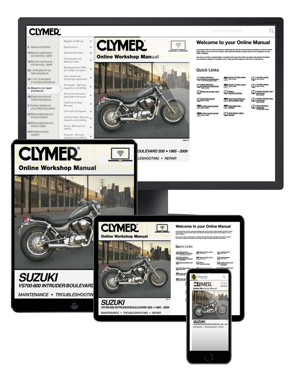 medium resolution of online manual enlarge suzuki vs700 800 intruder boulevard s50