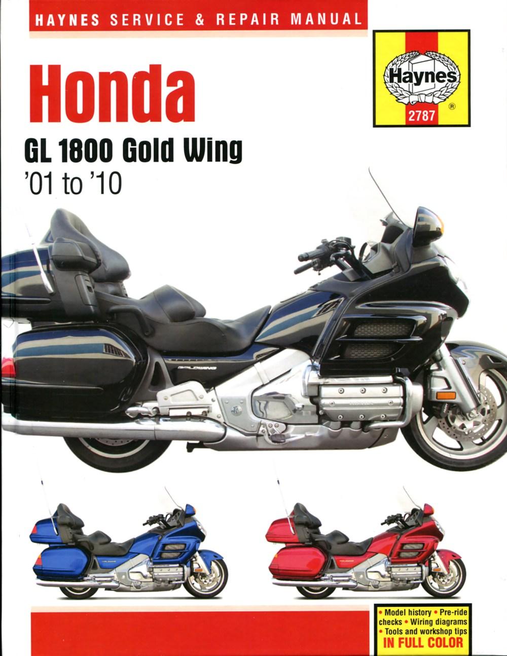 medium resolution of printed manual enlarge honda gl1800