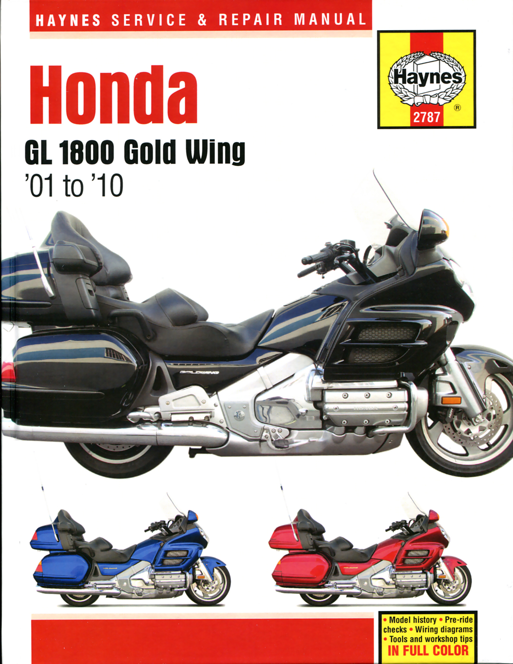 hight resolution of printed manual enlarge honda gl1800