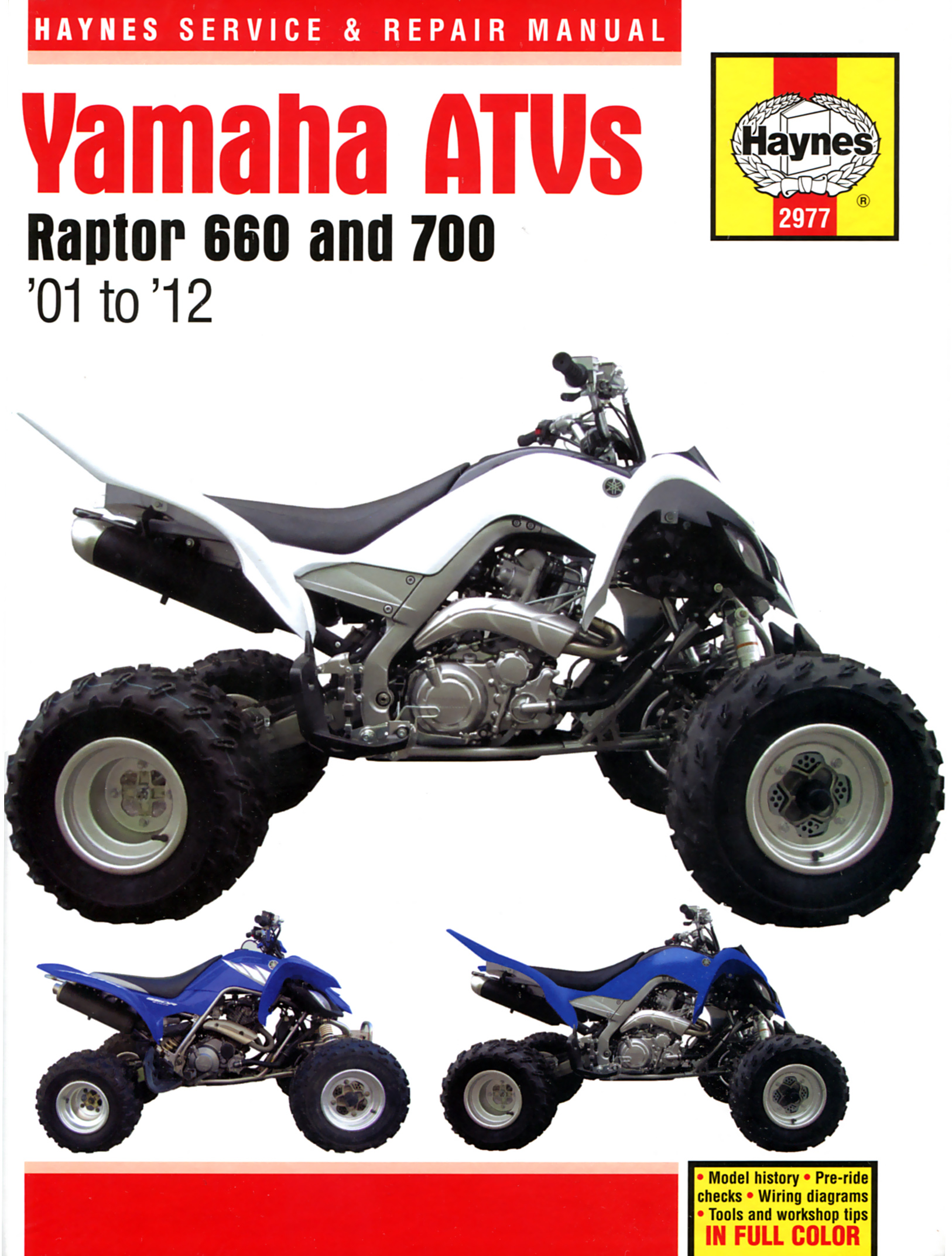 hight resolution of printed manual enlarge yamaha raptor