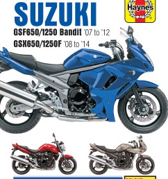 printed manual enlarge suzuki gsf650 1250  [ 2584 x 3307 Pixel ]