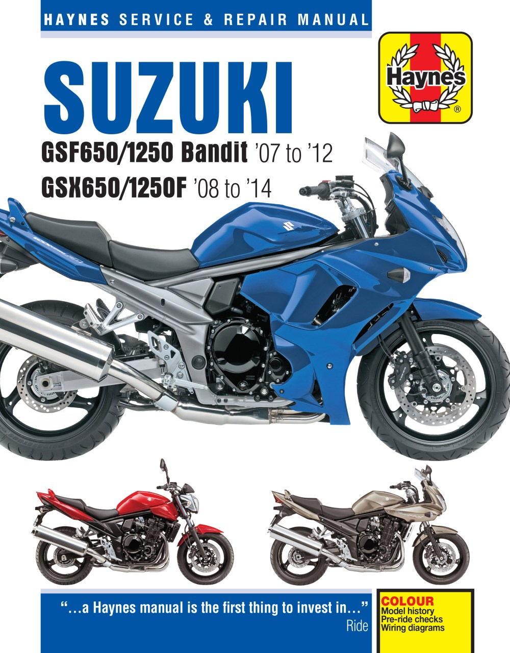 medium resolution of printed manual enlarge suzuki gsf650 1250