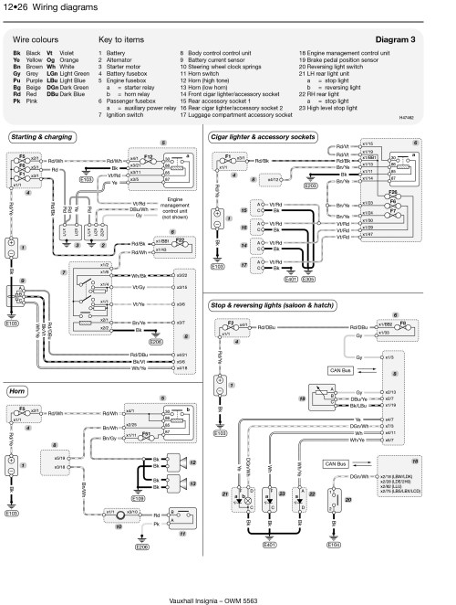 small resolution of vauxhall insignia wiring diagram