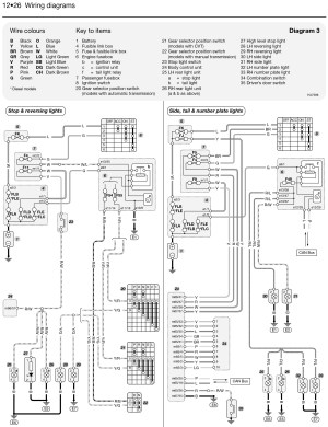 Nissan Car Manuals Wiring Diagrams $ Wwwdownloadappco