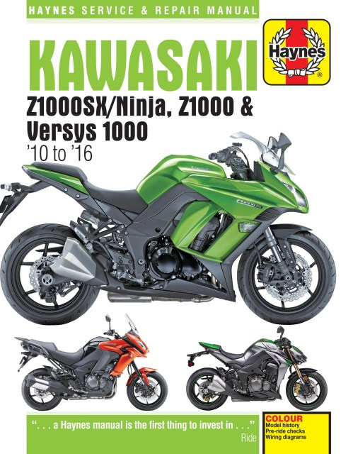 small resolution of printed manual enlarge kawasaki z1000