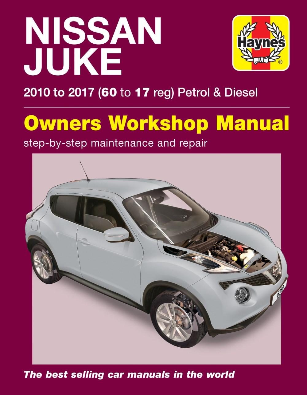 medium resolution of enlarge nissan juke 10 17 haynes repair manual