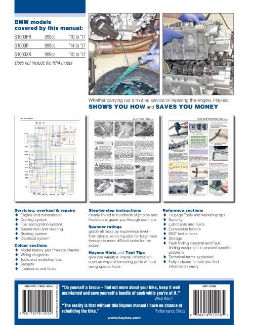small resolution of s1000rr haynes publishing bmw hp4 wiring diagram