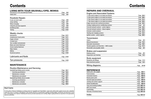 small resolution of mokka haynes publishing vauxhall mokka wiring diagram vauxhall mokka wiring diagram