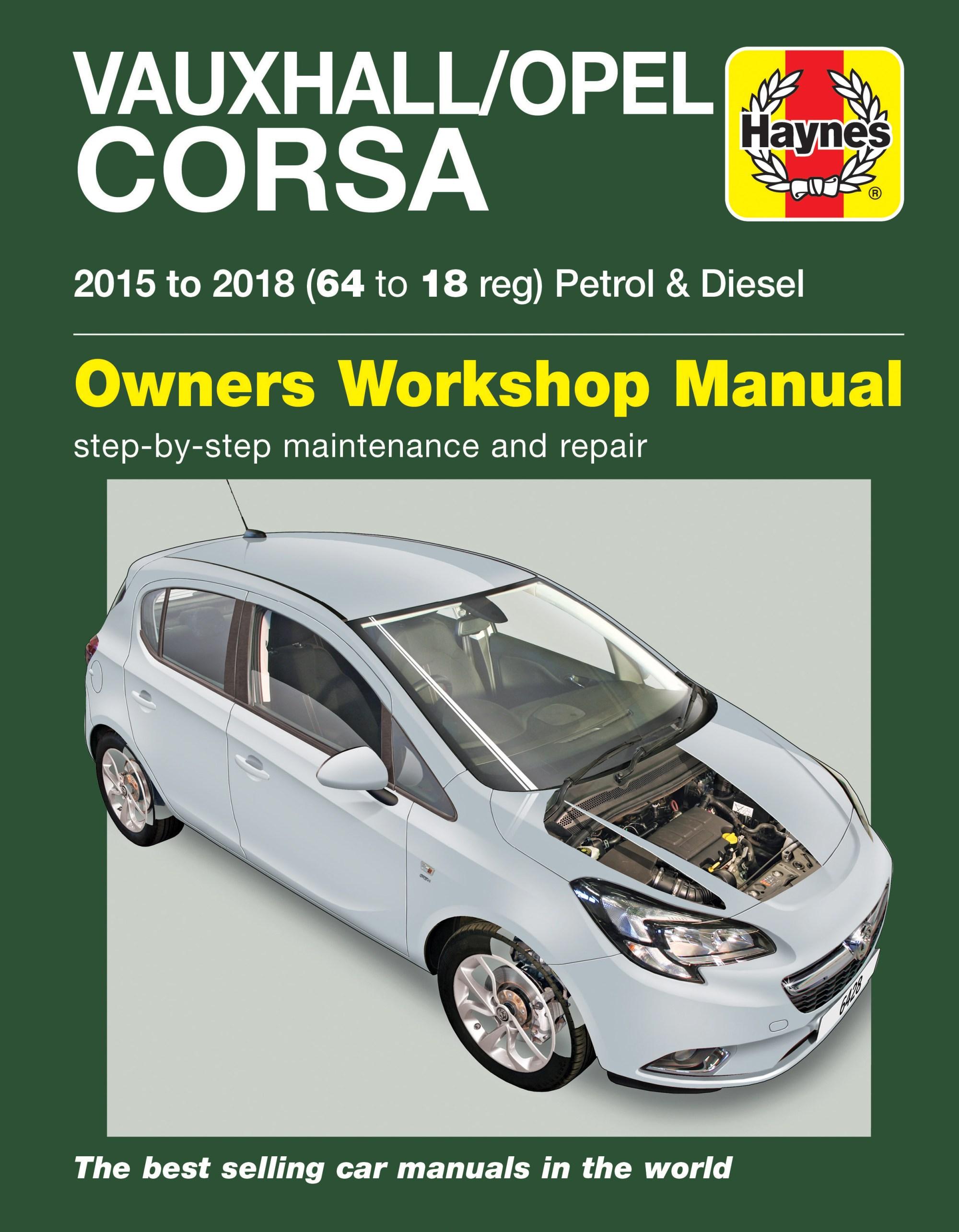 hight resolution of printed manual enlarge vauxhall opel corsa petrol diesel