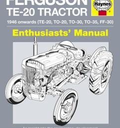 ferguson te 20 tractor manual enlarge  [ 800 x 1028 Pixel ]