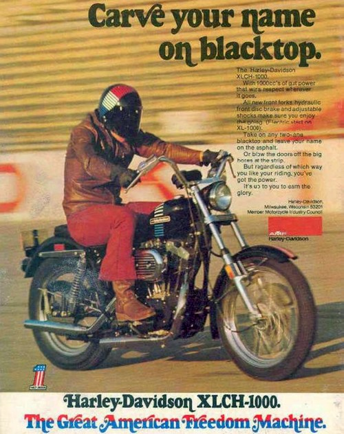 small resolution of 1973 harley davidson sportster 1000 magazine ad