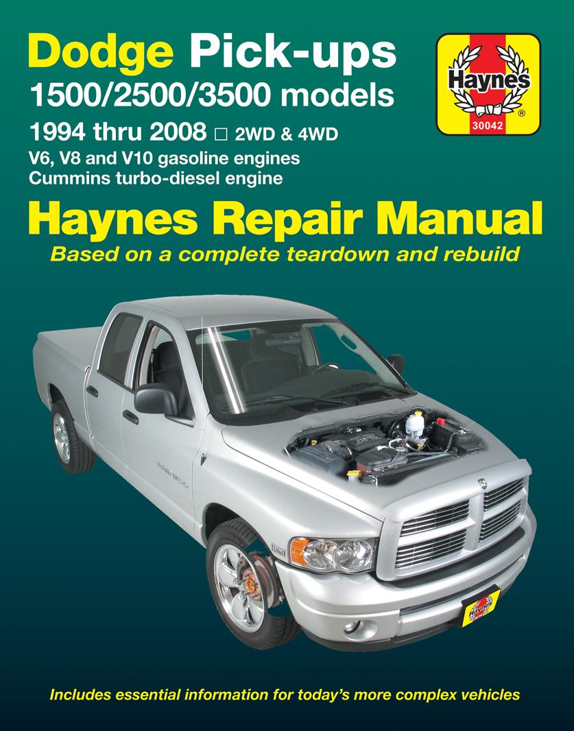 1987 Dodge W150 Repair Manual