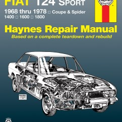 Simple Electrical Wiring Diagrams Images 2 Lights 1 Switch Diagram Fiat 124 Sport Coupe & Spider (68-78) Haynes Repair Manual | Manuals