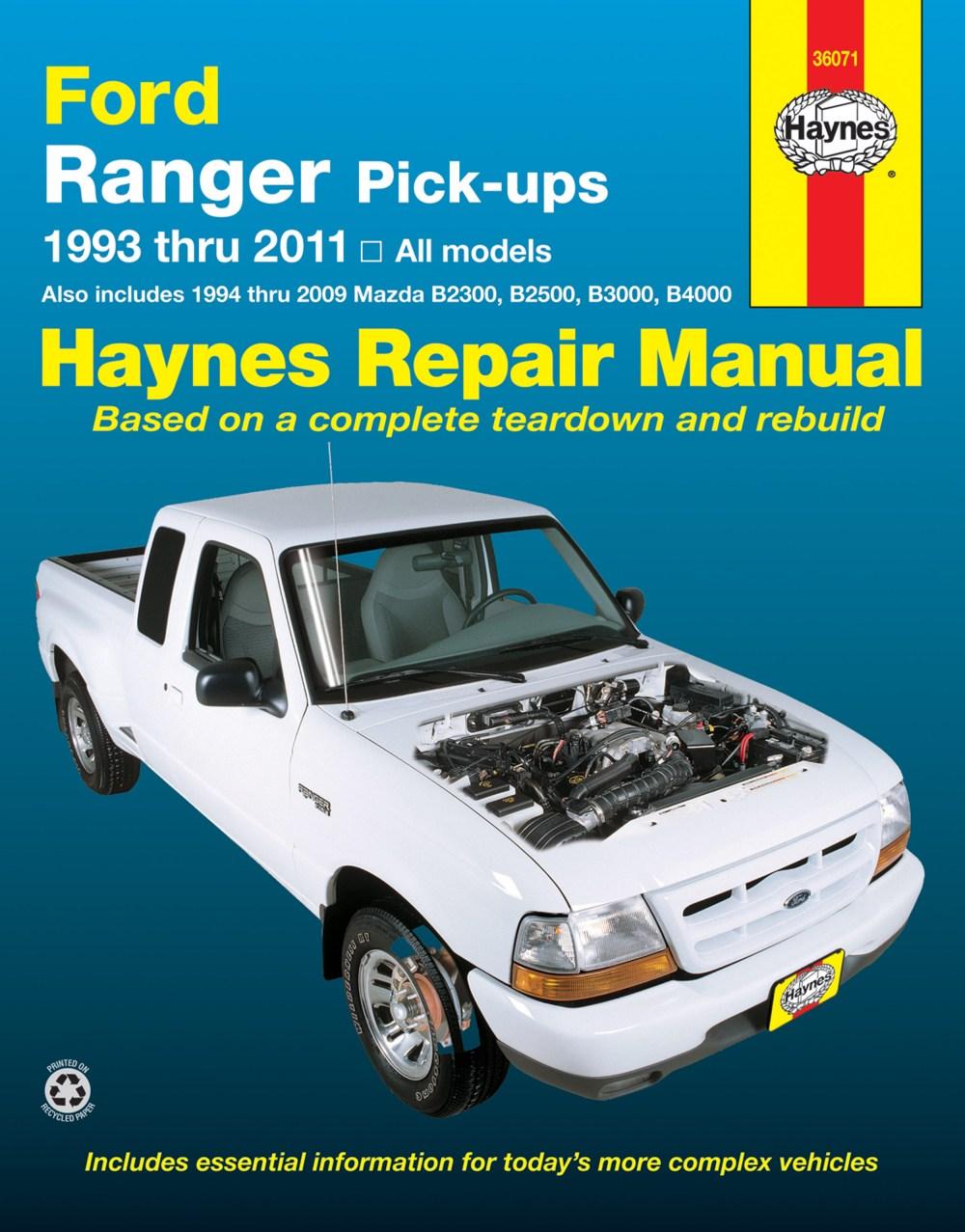 medium resolution of enlarge ford ranger