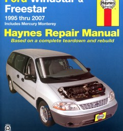 printed manual enlarge ford windstar  [ 1636 x 2106 Pixel ]