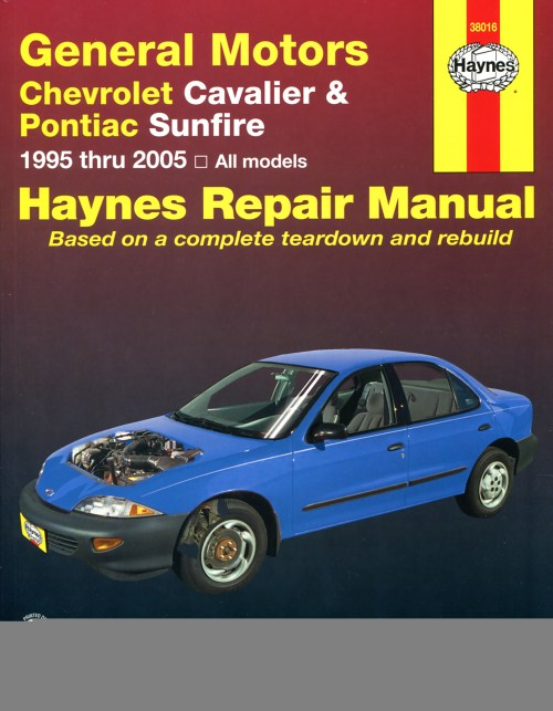small resolution of printed manual enlarge chevrolet cavalier