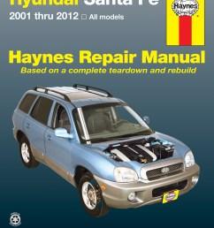 hyundai sante fe 01 12 haynes repair manual enlarge [ 2500 x 3197 Pixel ]