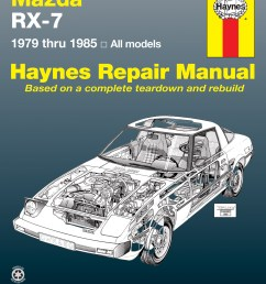 rx 7 haynes manualsprinted manual enlarge mazda rx 7 for [ 2500 x 3208 Pixel ]