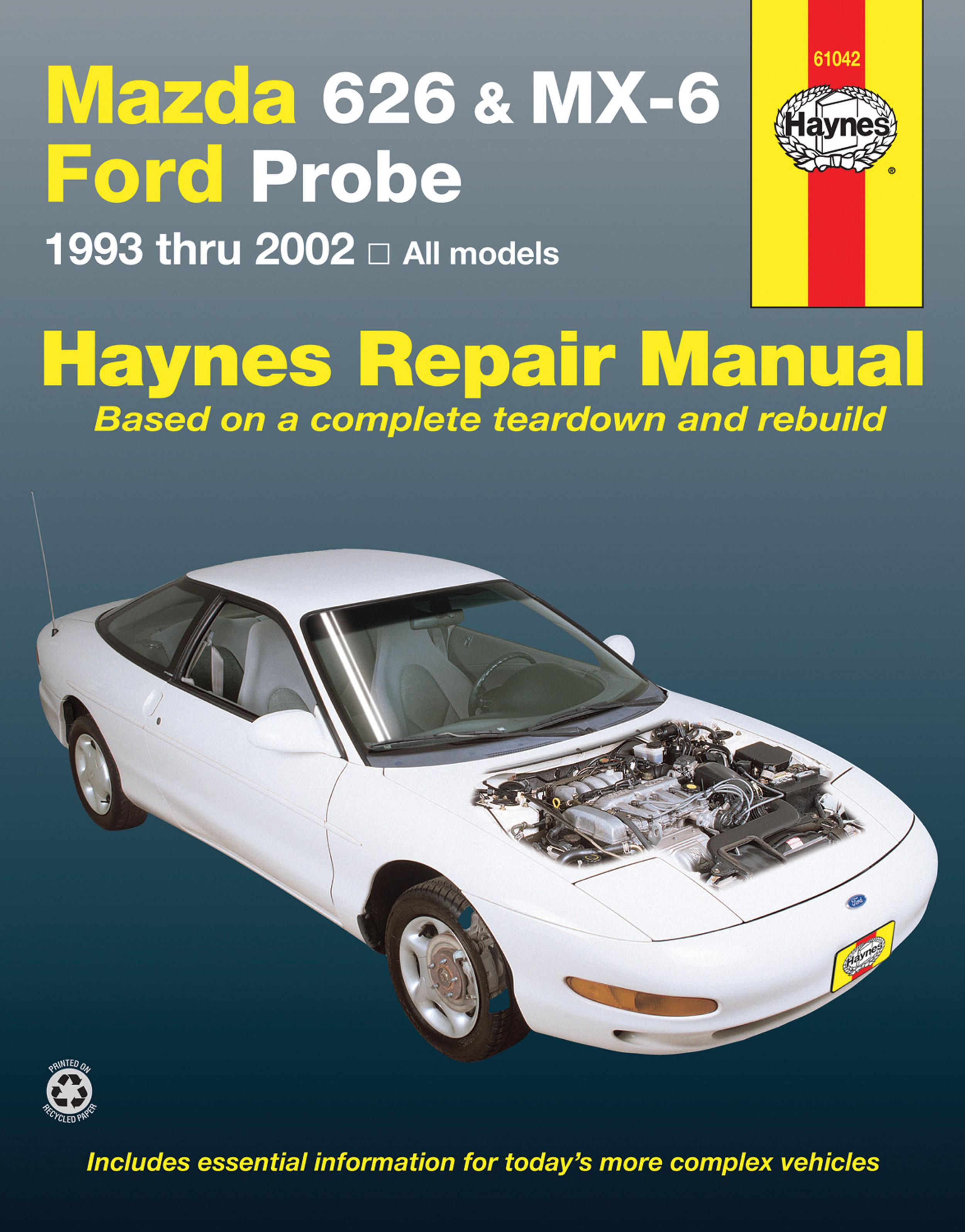1994 Ford Probe Wiring Diagram Wiring Diagram Schematic 1997 Ford